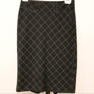 WHITE HOUSE BLACK MARKET Tailored Skirt